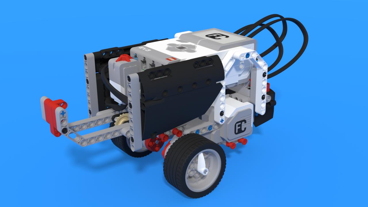 Image for Devi, a really stubborn LEGO Mindstorms EV3 Robot