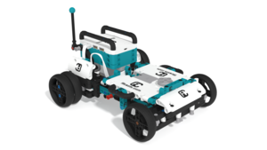 Image Description of MVP Robot from LEGO Mindstorms Robot Inventor 51515 in 3D building instructions
