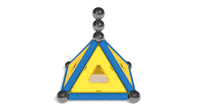 Image for Geomag Model 2 in 3D building instructions