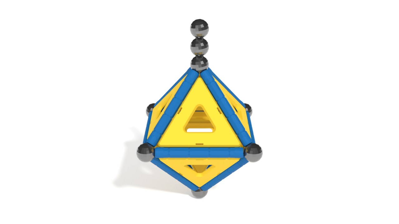 Image for Geomag Model 3 in 3D building instructions