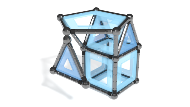 Image of Geomag Pro-L in 3D instruction