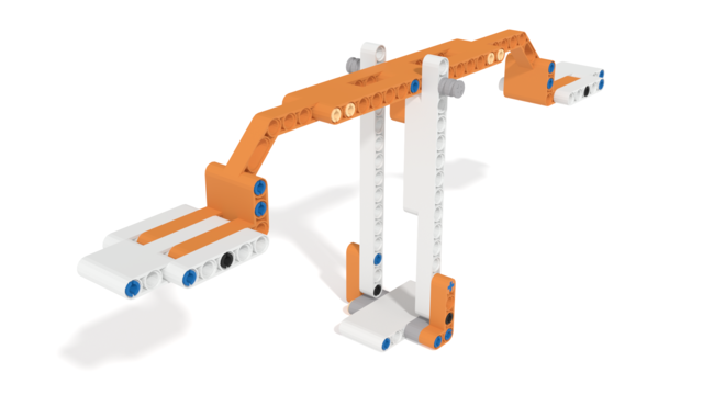 Image for Balance built from Apitor, a LEGO Compatible set, in 3D
