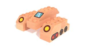 Image Description of FabBRIX Transportation - Tank in 3D building instructions