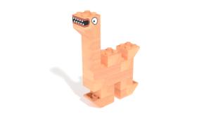 Image Description of FabBRIX JUNGLE LIFE - Camel in 3D building instructions