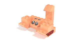 Image Description of FabBRIX JUNGLE LIFE - Scorpion in 3D building instructions