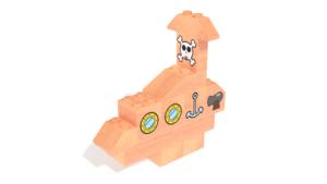 Image Description of FabBRIX Transportation - Submarine in 3D building instructions