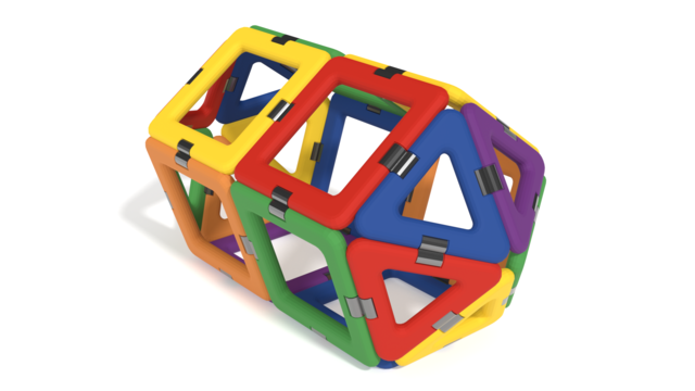 Image for Cylinder from GeoSmart GeoSphere in 3D building instructions