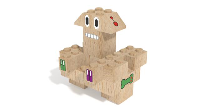Image for Otis, a robot built with FabBRIX Robots set in 3D building instructions