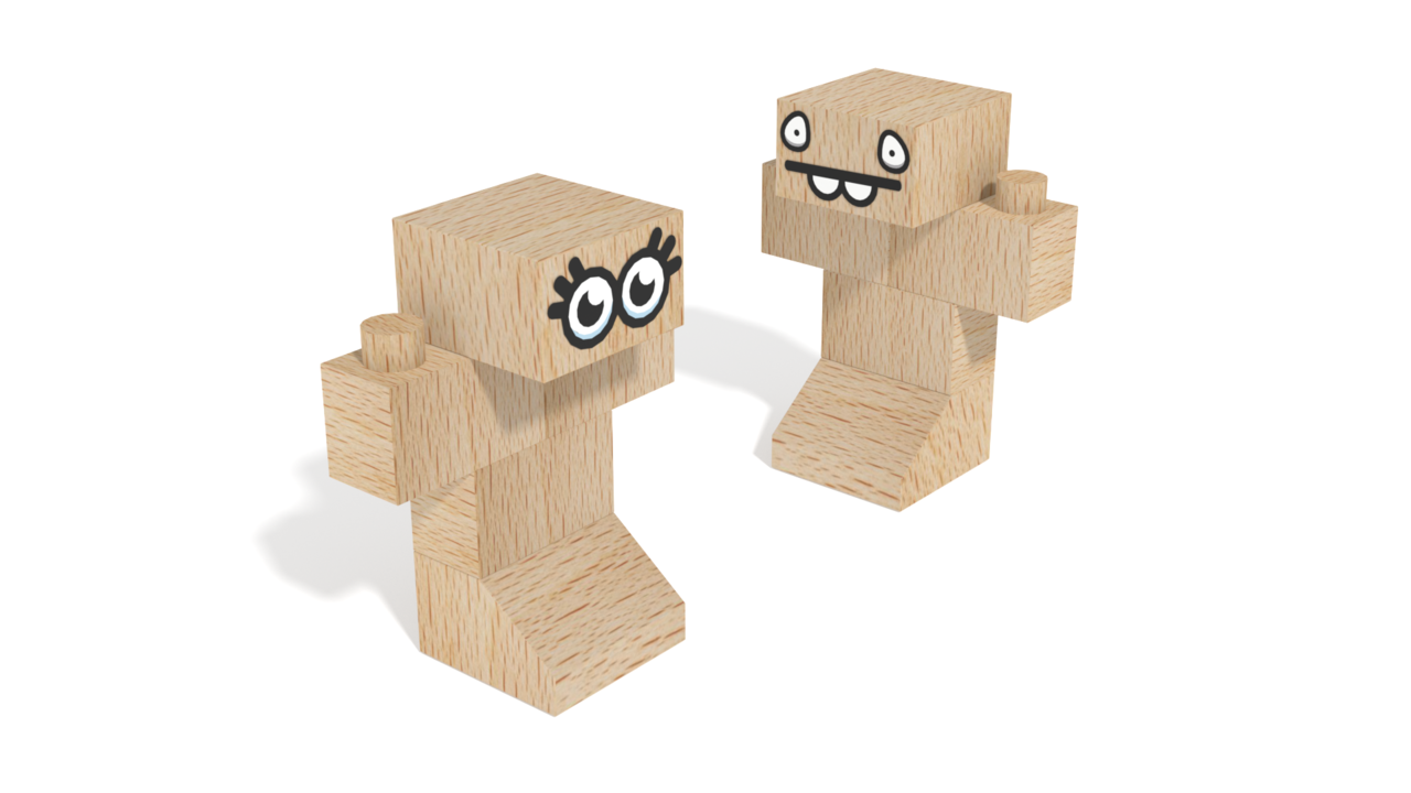 Image for FabBRIX Dino Park, Cuties in 3D building instructions