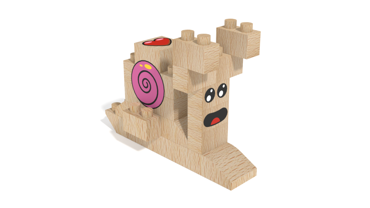 Image for FabBRIX Fairy, Snail Fairy in 3D building instructions