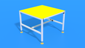Image Description of Industrial Table of Type Shelf