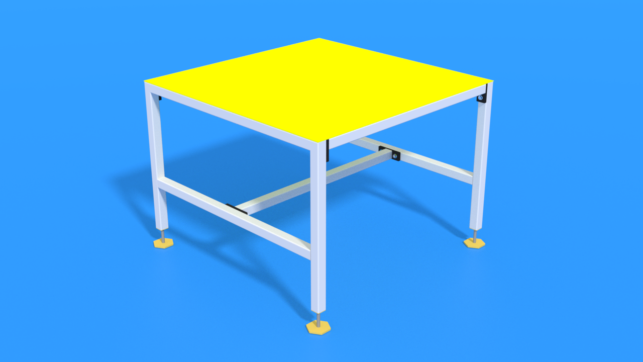 Image for Industrial Table of Type Shelf