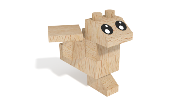 Image for FabBRIX Fantasy Friends, Birds Friend in 3D building instructions