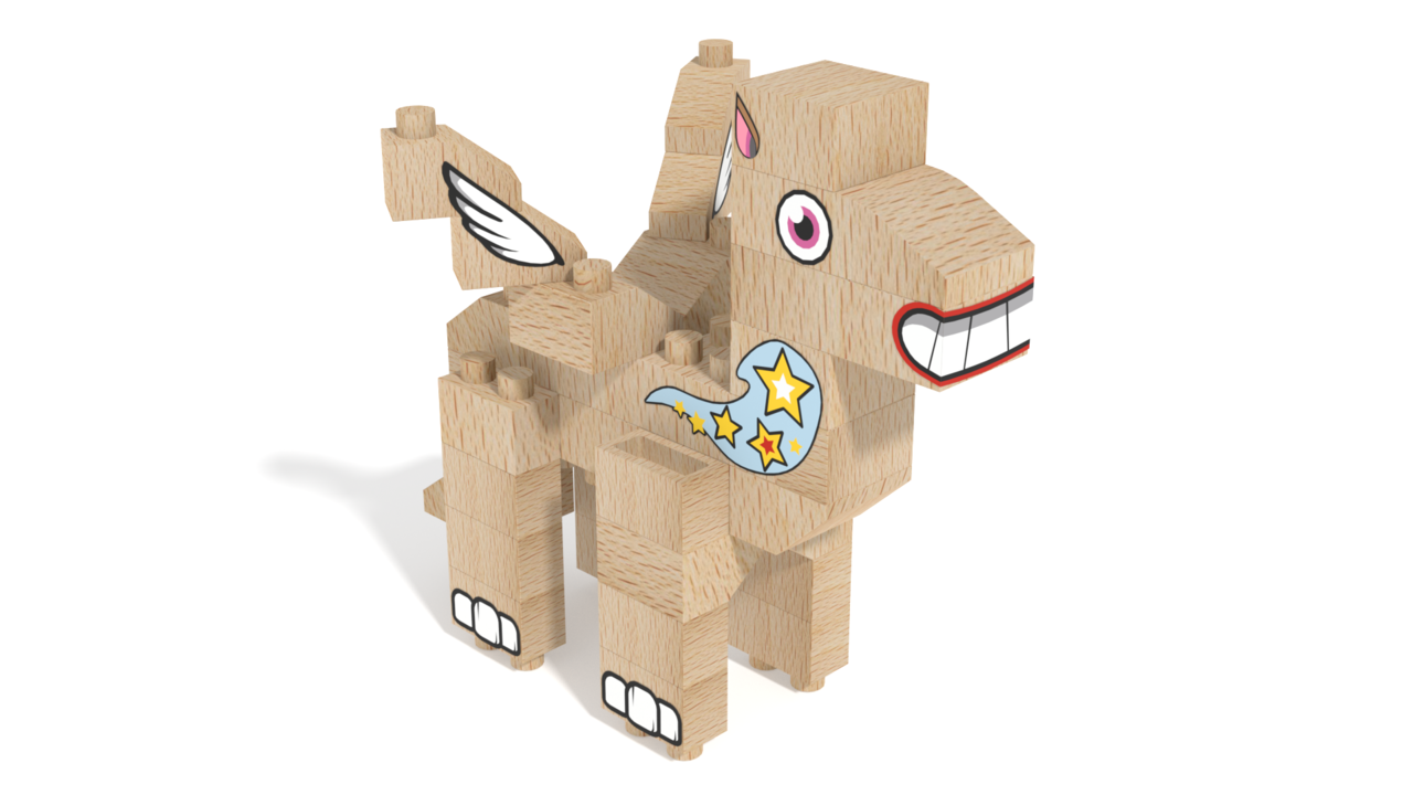 Image for FabBRIX Fairy, Pegasus in 3D building instructions