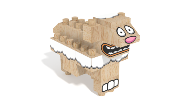 Image for FabBRIX Farm Animals, Sheep in 3D building instructions