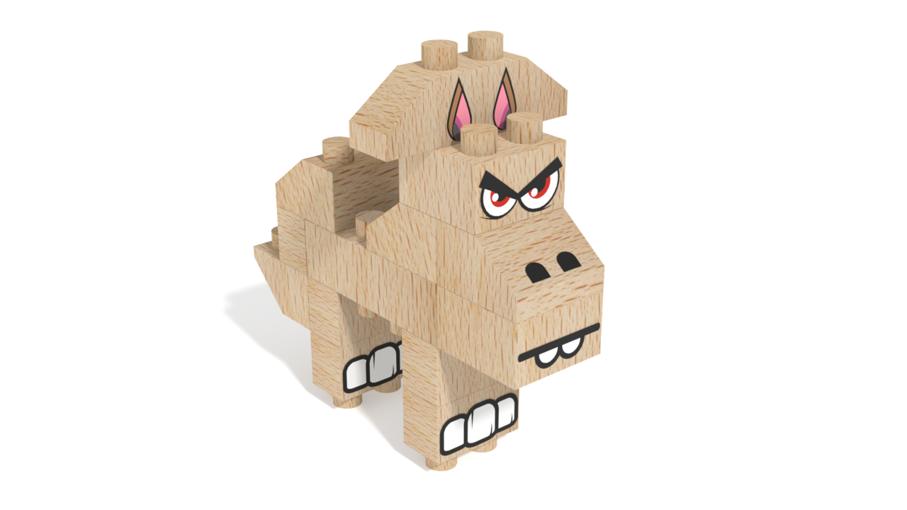 Image for FabBRIX Kingdom, Horse in 3D building instructions
