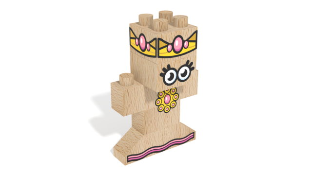Image for FabBRIX Kingdom, Queen in 3D building instructions