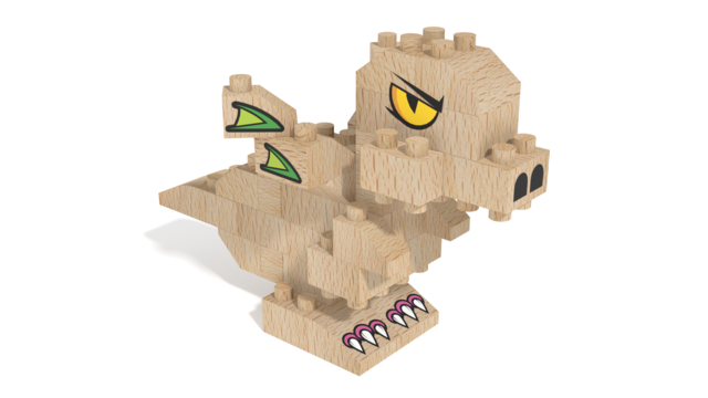 Image for FabBRIX Kingdom, Dragon in 3D building instructions