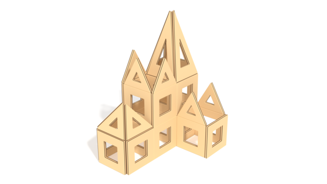 Image of Earthtiles, Palace in 3d building instructions