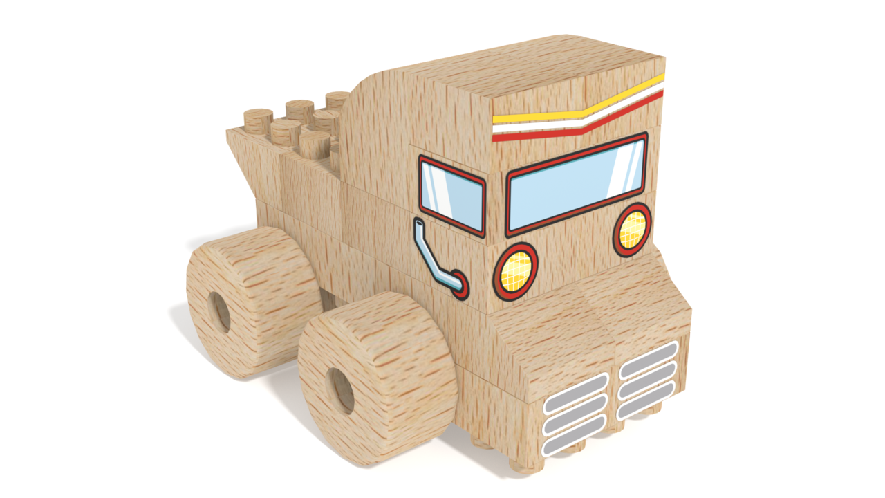 Image for FabBRIX Vehicles, Truck in 3D building instructions