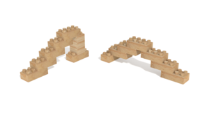 Image Description of Holznoppi, Sways, made of pine wood in 3D building instructions