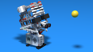 Image Description of Torvi - Ball shooting Lego machine