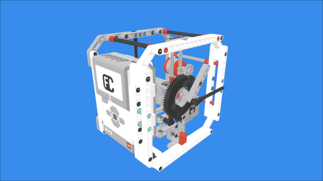Image for Clock with LEGO Mindstorms EV3