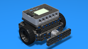 Image Description of VEX IQ Touch Sensor Bumper by FLLCasts in 3D building instructions